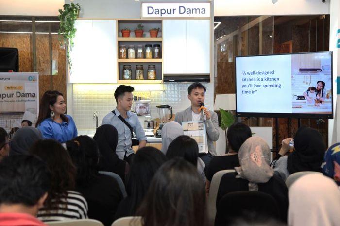 Hadirkan Teknologi Modular Dengan Dapur Dama Pilihan