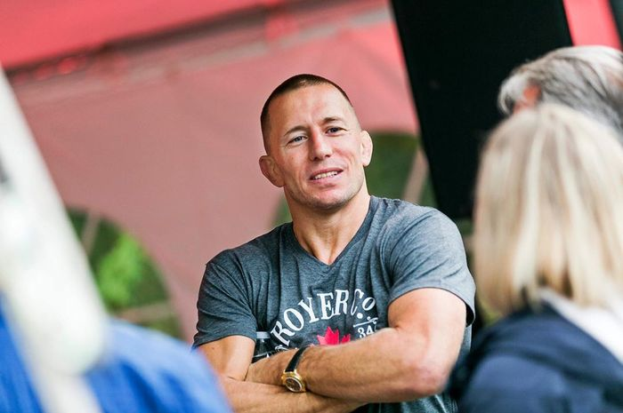 Mantan petarung mixed martial arts, Georges St-Pierre.