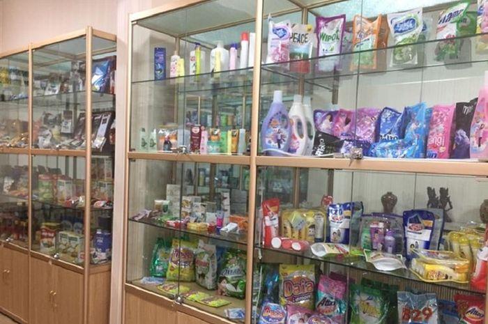 Gerai Produk Indonesia yang ada di Pyongyang, Korea Utara.