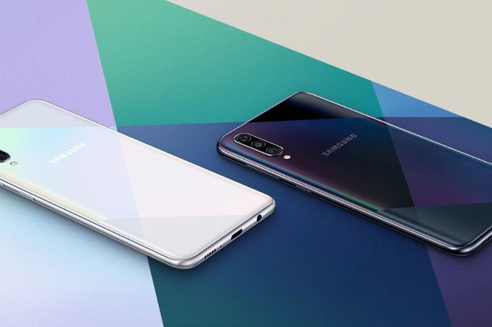 Contoh warna Galaxy A50s