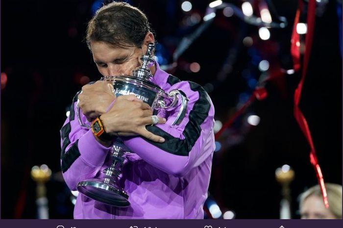 US Open 2019 - Rafael Nadal: Trofi Ini Berarti Segalanya Bagi Saya - Bolasport.com