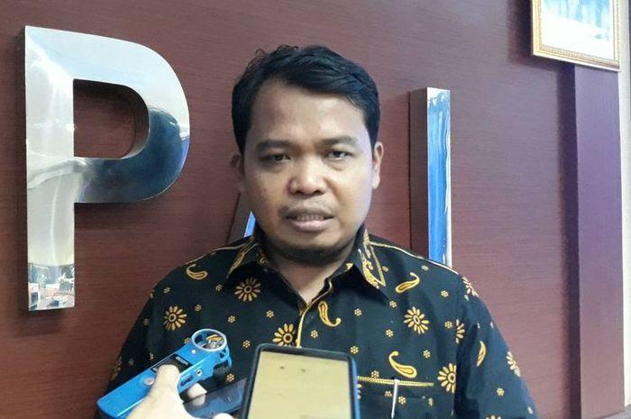 Ketua KPAI Susanto di kantor KPAI, Jakarta Pusat, Rabu (13/3/2019)