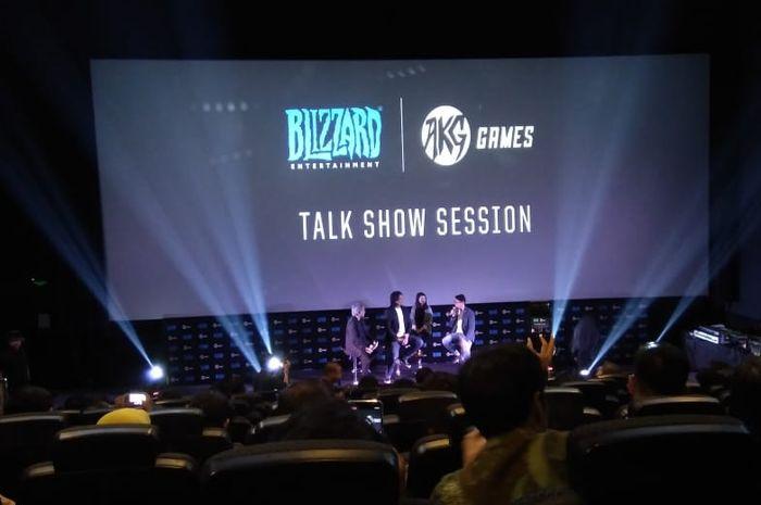 Kerja sama Blizzard Entertainment dengan AKG Games pada Selasa, (12/9/2019) di CGV, Grand Indonesia