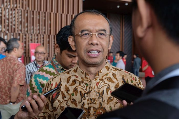 Sekretaris Kementerian Pemuda dan Olahraga, Gatot S. Dewabroto saat ditemui di sela-sela acara IDBYTE ESPORTS 2019 di ICE BSD, Jumat (13/9/2019).