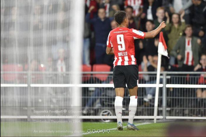 Penyerang PSV Eindhoven, Donyell Malen.