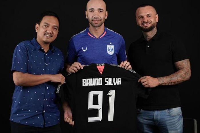 Pemain asal Brasil, Bruno Silva, kembali bergabung PSIS Semarang pada putaran kedua Liga 1 2019.