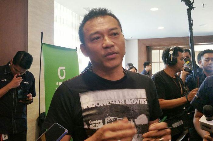 Artis musik Anang Hermansyah saat ditemui di MNC Studios, Kebon Jeruk, Jakarta Barat, Senin (16/9/2019)