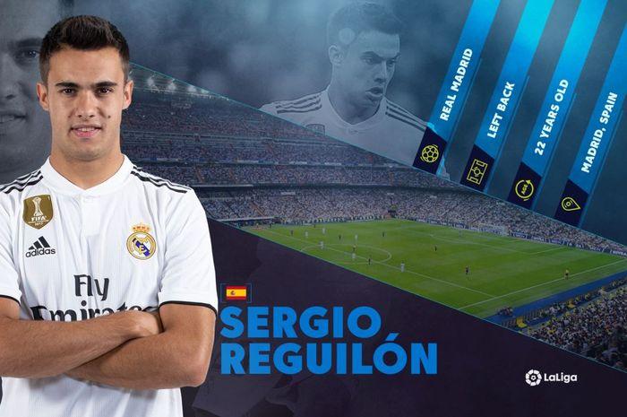 Bek muda Real Madrid, Sergio Reguilon.