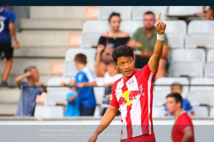 Penyerang Red Bull Salzburg asal Korea Selatan, Hwang Hee-chan.