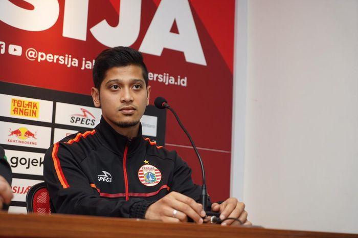 Pemain baru Persija Jakarta, Farri Agri, yang sudah berpengalaman di Qatar