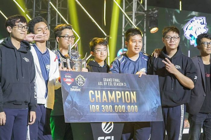 EVOS AOV Wakili Indonesia di AOV International Championship 2019