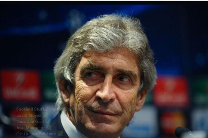 Pelatih West Ham United, Manuel Pellegrini.