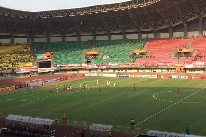 Persija Jakarta kontra Barito Putera di Stadion Patriot