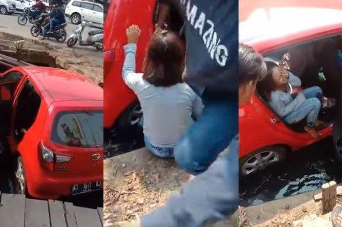 Wanita di Samarinda menangis histeris dapati sang suami tewas tertembak