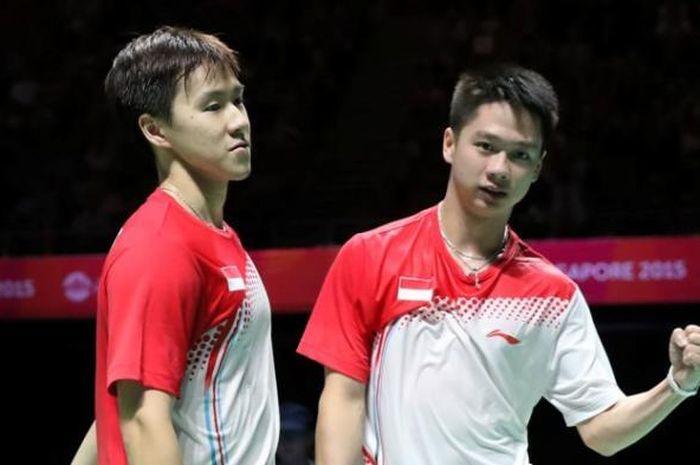 Marcus Fernaldi Gideon dan Kevin Sanjaya