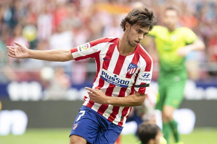 Penyerang Atletico Madrid, Joao Felix, yakin dirinya bisa saingi permainan Kylian Mbappe dan Erling Haaland di masa depan.