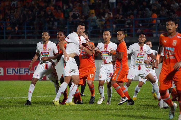 Borneo FC Vs Persija Jakarta pada pekan ke-21 Liga 1 2019 di Stadion Segiri, Samarinda, Jumat (27/9/2019).