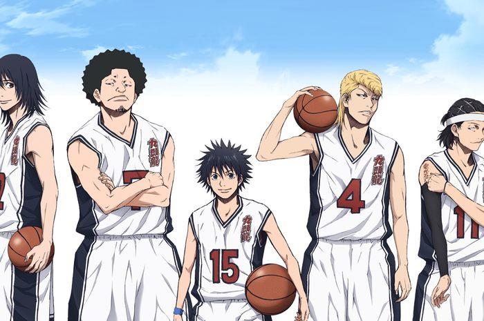 Anime sport (olahraga): Ahiru no Sora