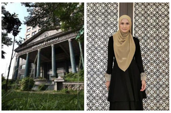 Menara Saidah milik suami Inneke Koesherawati tampak seperti gedung berhantu yang mirip Hotel Del Luna.