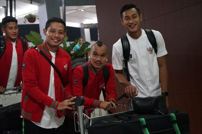 Timnas Indonesia berangkat ke UEA.