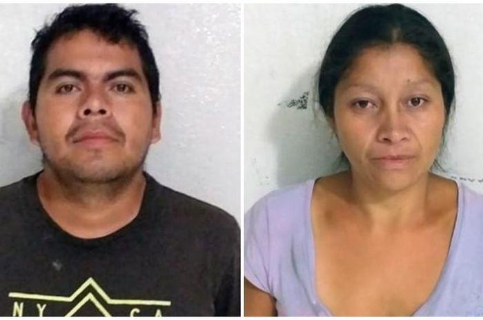 Carlos Hernandez Bejar (38) dan Patricia Martinez (44) pelaku pembunuhan 20 wanita di Ecatepec, Meksiko.