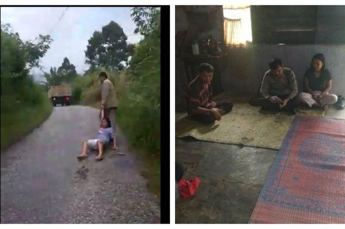 Viral Kakak Kandung Seret Adiknya di Jalan Beraspal di Sumatera Utara, Begini Penjelasan Polisi!