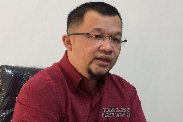 Manajer Sriwijaya FC, Hendri Zainuddin