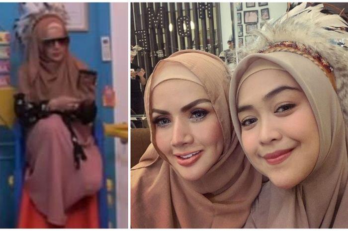 Barbie Kumalasari tampil berhijab