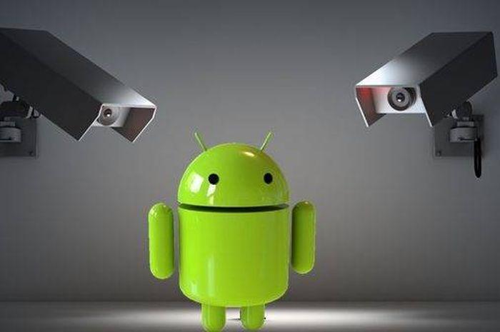Ilusttasi spyware di sistem Android