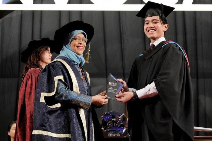 Kaesang Pangarep jalani wisuda dan lulus dari Singapura