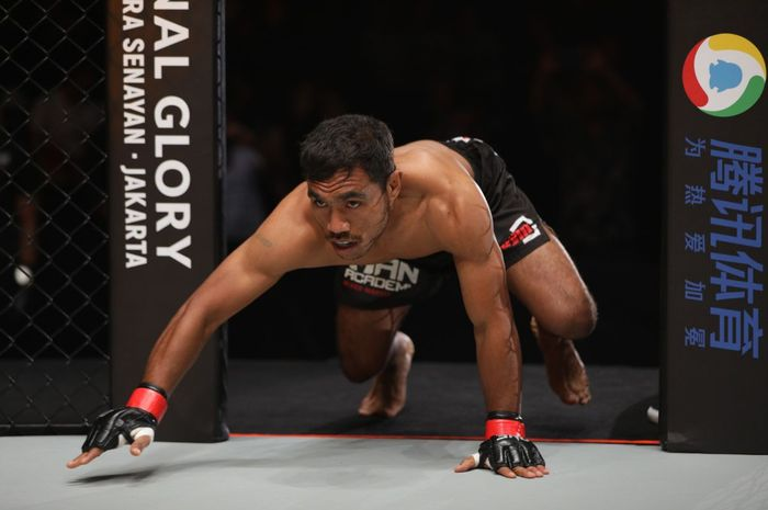 Atlet ONE Championship asal Indonesia, Abro Fernandes.