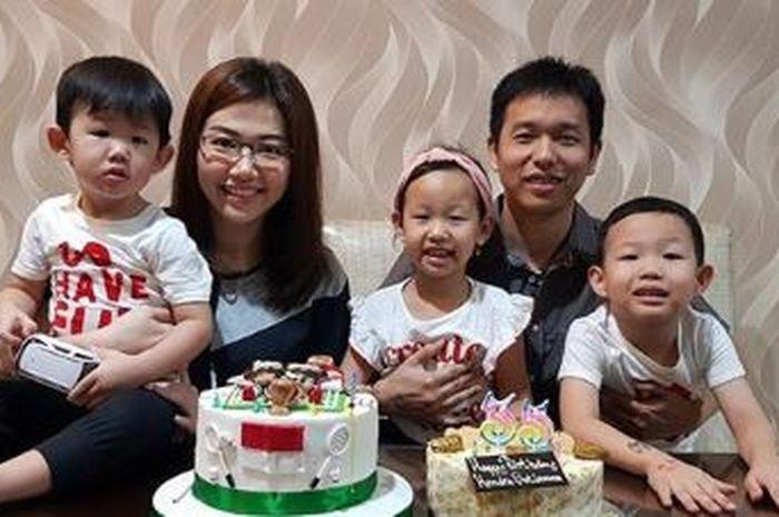 Hendra Setiawan dan Keluarga