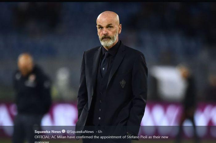 Stefano Pioli, pelatih baru AC Milan.