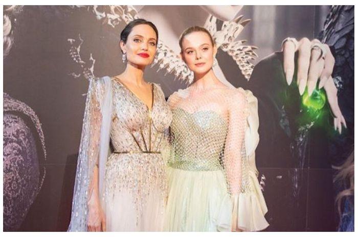 Elle Fanning Tampil Cantik di Maleficent 2, Angelina Jolie Belikan Hadiah Cincin Berlian Mewah untuknya!