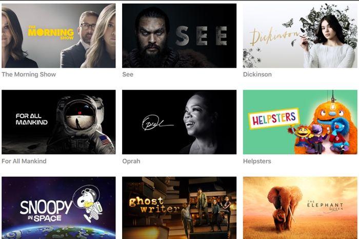 Apple Luncurkan Situs Khusus untuk Promosikan Tayangan Apple TV+