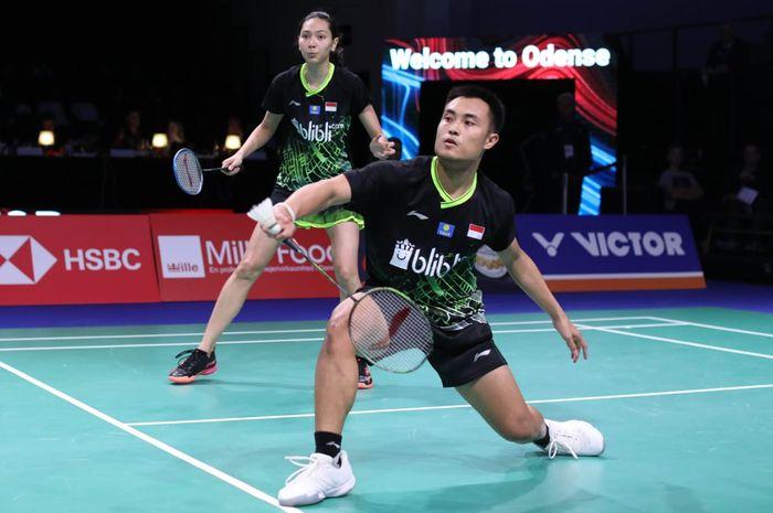 Pasangan ganda campuran Indonesia, Hafiz Faizal/Gloria Emanuelle Widjaja, tampil pada babak pertama Denmark Open 2019, Rabu (16/10/2019).