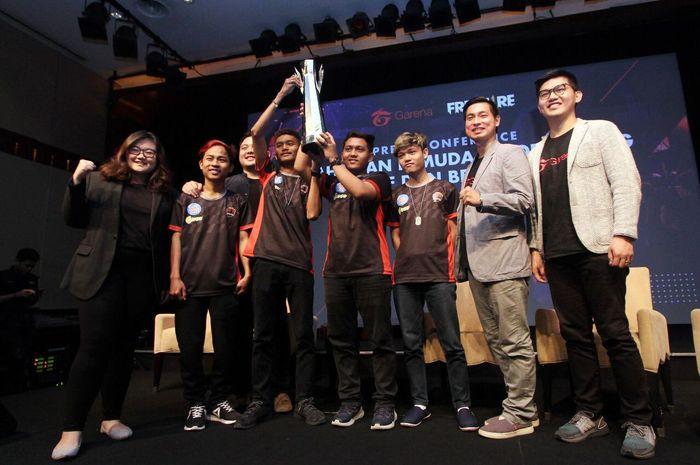 Tim Dranix Esports berhasil merebut gelar juara Free Fire Indonesia Masters Season 2.