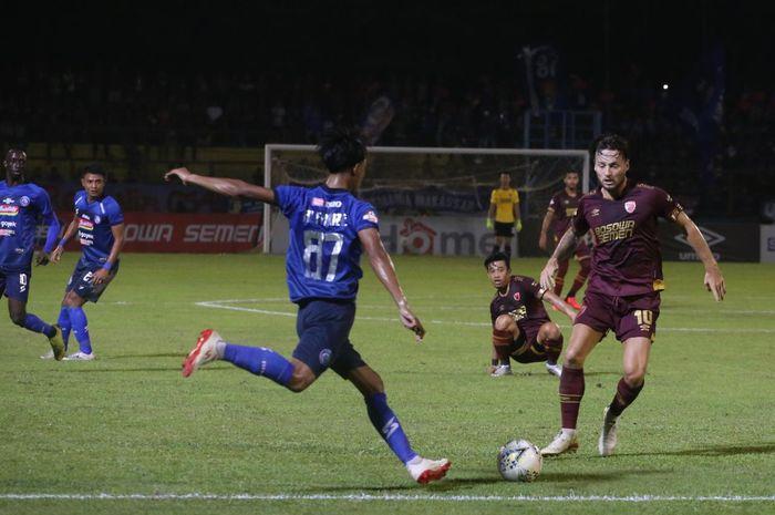 PSM berhasil mengalahkan Arema FC 6-2 dalam laga tunda pekan kelima Liga 1 2019 di Stadion Andi Mattalatta, Rabu (16/10/2019).