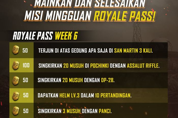 Royale Pass Week 6