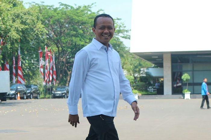 Mantan Ketua HIPMI Bahlil Lahadalia datang ke Istana memenuhi panggilan Presiden Joko Widodo