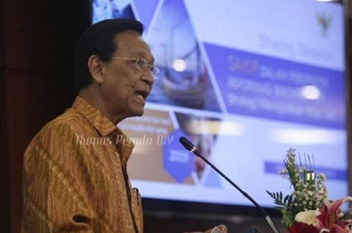 Gubernur Daerah Istimewa Yogyakarta, Sri Sultan Hamengkubuwono X.