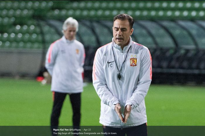Pelatih Guangzhou Evergrande, Fabio Cannavaro.