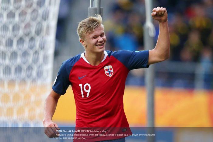 Erling Haaland Alumni Sukses Terbaru Dari Ajang Piala Dunia U 20 Bolasport Com