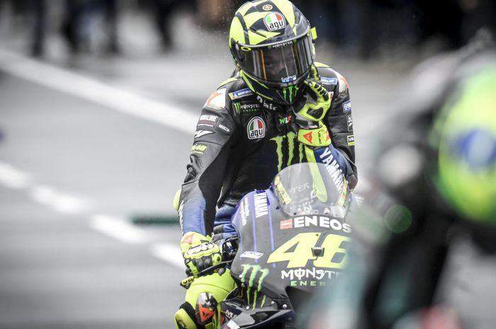Pebalap Monster Energy Yamaha, Valentino Rossi, akan memulai balapan MotoGP Australia 2019  dari baris kedua.