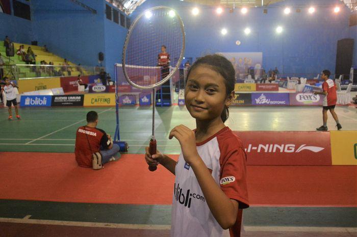 Tanaya Ramadhanti Putri Budhitmyanti, peserta Audisi Umum 2019 kategori U-11 Putri.