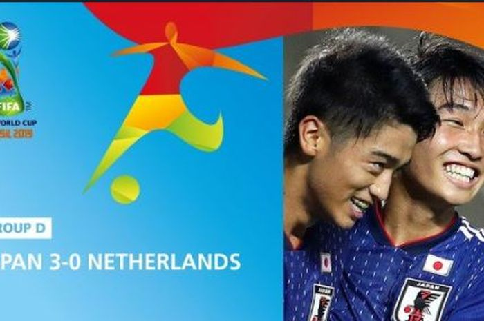 Timnas Jepang mengalahkan Belanda dalam laga Piala Dunia U-17 2019.