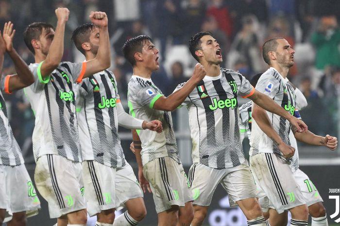 Juventus usai menekuk Genoa 2-1 dalam lanjutan Serie A 2019/20, Rabu (30/10/2019).
