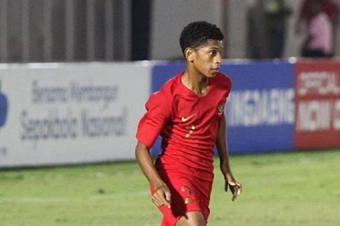 Mendiang Alfin Lestaluhu, pemain timnas U-16 Indonesia yang meninggal dunia karena encepahlitis atau radang otak atau infeksi otak pada Kamis (31/10/2019).