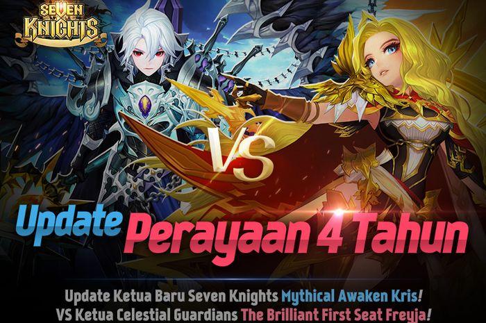 Update Perayaan 4 Tahun game Seven Knights dengan Mythical Awaken Kris