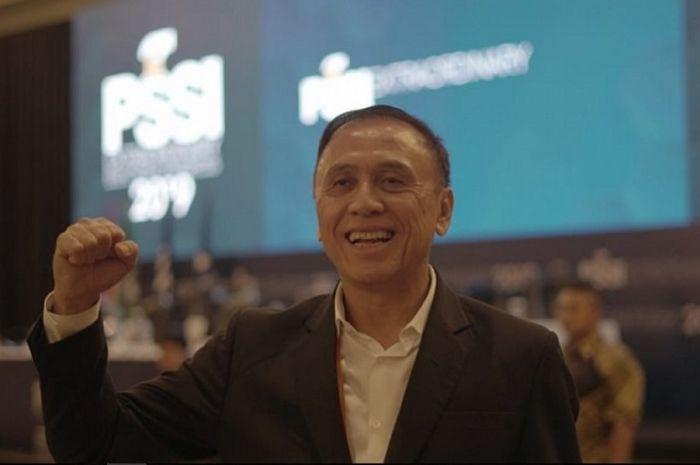 Mochamad Iriawan alias Iwan Bule terpilih menjadi Ketua Umum PSSI periode 2019-2023.